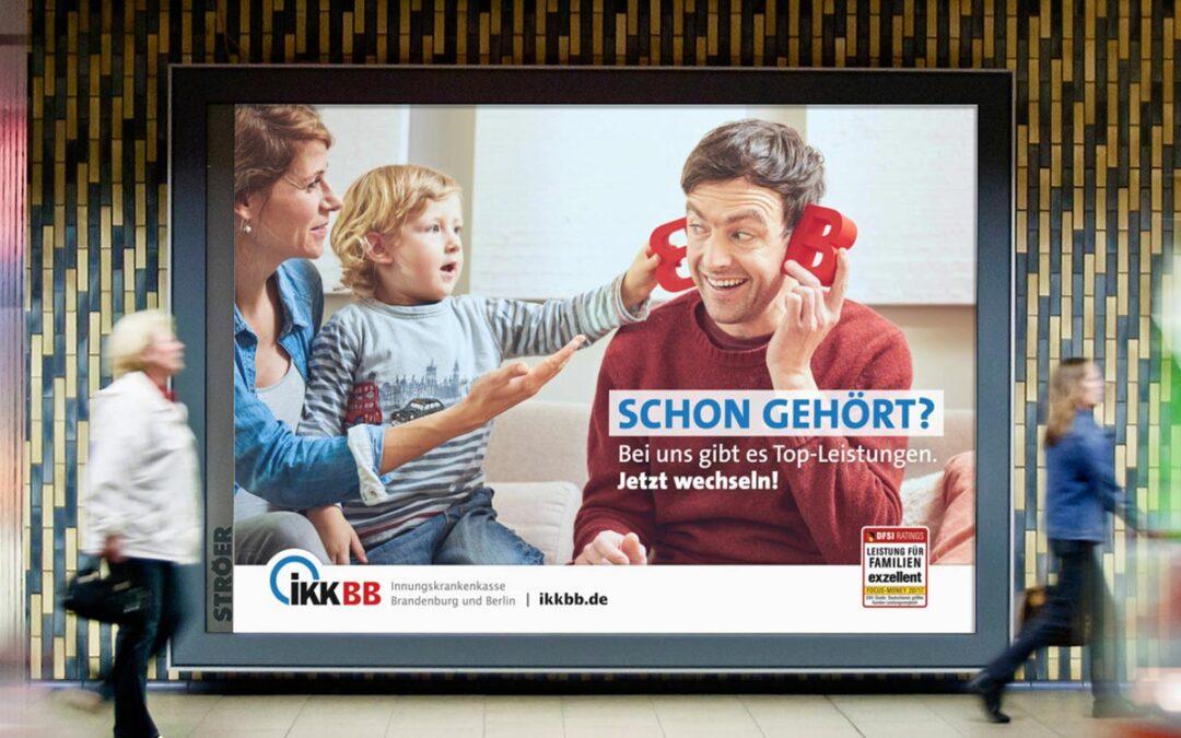 IKKBB | Kampagne »Top-Leistungen für Familien«