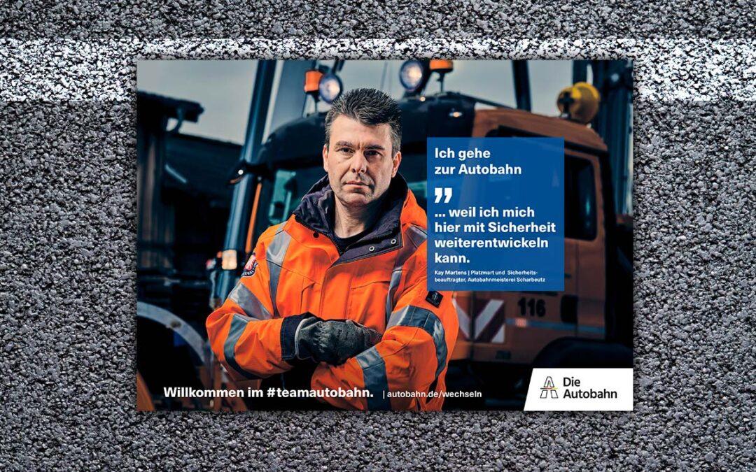 Die Autobahn | Employer Branding Kampagne